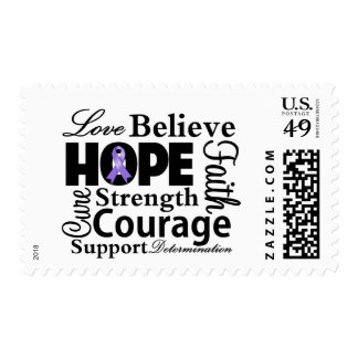 Hodgkins Lymphoma Collage of Hope Stamp