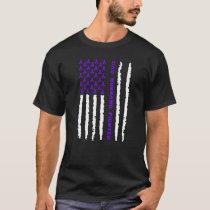 Hodgkins Lymphoma Dad Husband Fighter T-Shirt