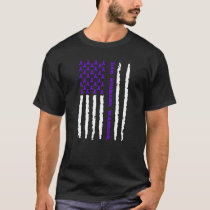 Hodgkins Lymphoma Dad Husband Warrior T-Shirt