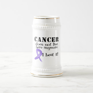 Hodgkins Lymphoma Does Not Live Here Anymore 18 Oz Beer Stein