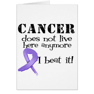 Hodgkins Lymphoma Does Not Live Here Anymore Card