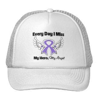 Hodgkins Lymphoma Every Day I Miss My Hero Trucker Hat