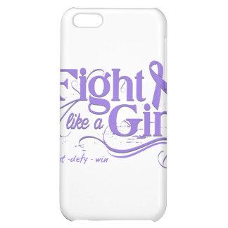 Hodgkin's Lymphoma Fight Like A Girl Elegant Case For iPhone 5C