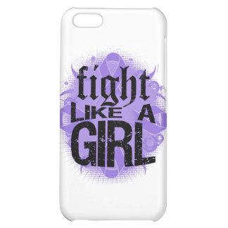 Hodgkin's Lymphoma Fight Like A Girl Rock Ed. iPhone 5C Cases