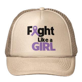 Hodgkins Lymphoma Fight Like a Girl Trucker Hat