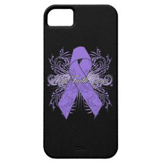 Hodgkins Lymphoma Flourish Hope Faith Cure iPhone 5 Case