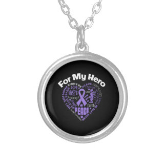 Hodgkins Lymphoma For My Hero Necklaces
