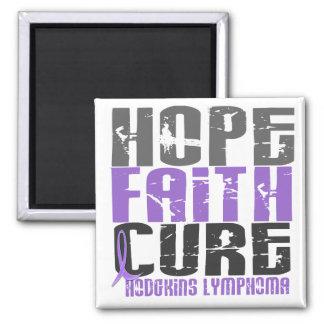Hodgkin's Lymphoma HOPE FAITH CURE 1 Magnet