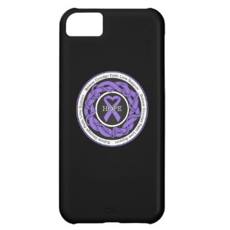 Hodgkins Lymphoma Hope Intertwined Ribbon Cover For iPhone 5C