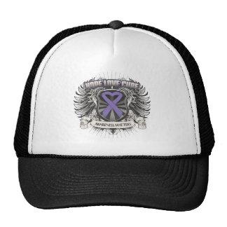 Hodgkins Lymphoma Hope Love Cure Hats