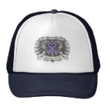 Hodgkins Lymphoma Hope Love Cure Trucker Hat