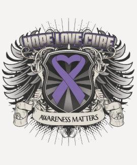 Hodgkins Lymphoma Hope Love Cure Shirt