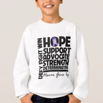 Hodgkins Lymphoma Hope Support Advocate Sweatshirt