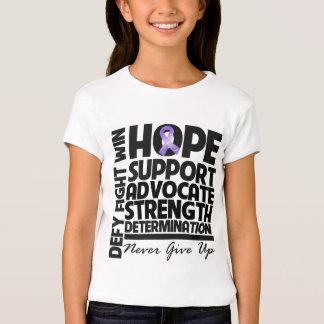 Hodgkins Lymphoma Hope Support Advocate T-Shirt
