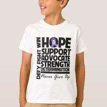 Hodgkins Lymphoma Hope Support Advocate T-Shirt