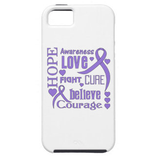 Hodgkins Lymphoma Hope Words Collage iPhone 5 Covers