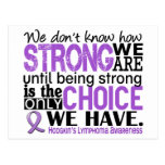Hodgkin's Lymphoma How Strong We Are Postcards