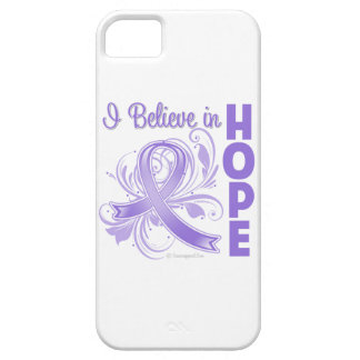 Hodgkins Lymphoma I Believe in Hope iPhone 5 Case