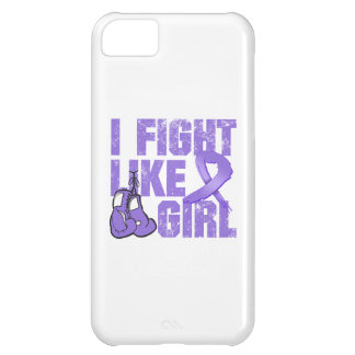 Hodgkins Lymphoma I Fight Like A Girl (Grunge) Cover For iPhone 5C
