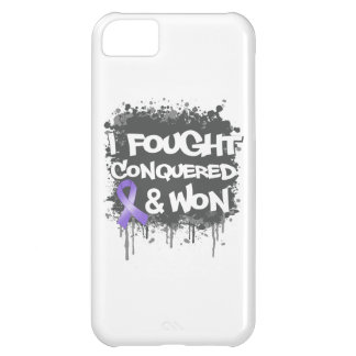 Hodgkin's Lymphoma I Fought Conquered Won iPhone 5C Cases