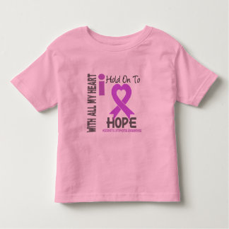 Hodgkins Lymphoma I Hold On To Hope Toddler T-shirt