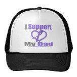 Hodgkin's Lymphoma I Support My Dad Trucker Hat