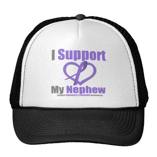 Hodgkin's Lymphoma I Support My Nephew Hats