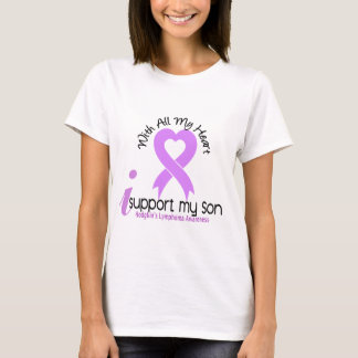 Hodgkins Lymphoma I Support My Son T-Shirt