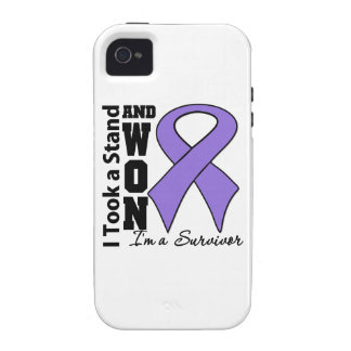Hodgkins Lymphoma  I Took a Stand and Won Case-Mate iPhone 4 Cases