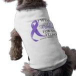 Hodgkin's Lymphoma I Wear a Ribbon For My Hero Pet Clothes