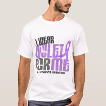 Hodgkins Lymphoma I Wear Violet For ME 6.2 T-Shirt