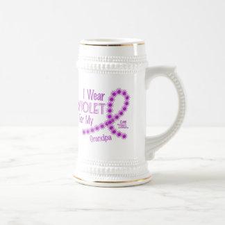 Hodgkins Lymphoma I Wear Violet For My Grandpa 26 Mugs