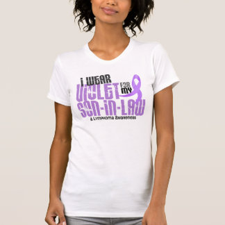 Hodgkins Lymphoma I Wear Violet For My Son-In-Law T-Shirt