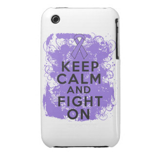 Hodgkins Lymphoma Keep Calm and Fight On iPhone 3 Cases