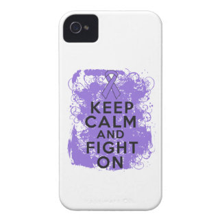 Hodgkins Lymphoma Keep Calm and Fight On iPhone 4 Cover