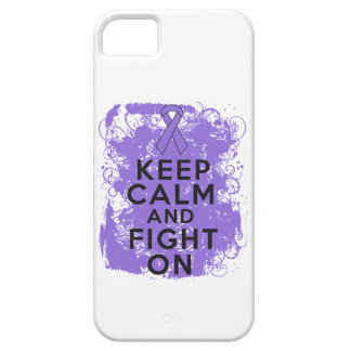 Hodgkins Lymphoma Keep Calm and Fight On iPhone 5 Covers