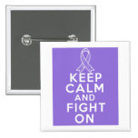 Hodgkins Lymphoma Keep Calm and Fight On Pins