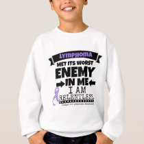Hodgkin's Lymphoma Met Its Worst Enemy in Me Sweatshirt