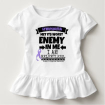 Hodgkin's Lymphoma Met Its Worst Enemy in Me Toddler T-shirt