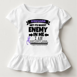 Hodgkin's Lymphoma Met Its Worst Enemy in Me Toddler T-shirt