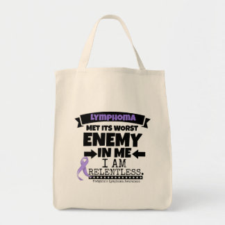 Hodgkin's Lymphoma Met Its Worst Enemy in Me Tote Bag