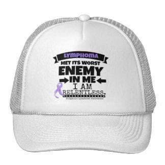 Hodgkin's Lymphoma Met Its Worst Enemy in Me Trucker Hat