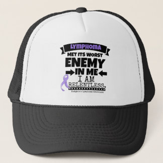 Hodgkin's Lymphoma Met Its Worst Enemy in Me Trucker Hat
