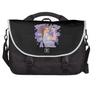 Hodgkin's Lymphoma Modern Rosie Fight Bags For Laptop
