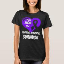 Hodgkins Lymphoma Mom T-Shirt