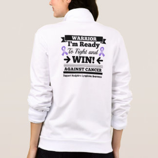 Hodgkins Lymphoma Ready To Fight and Win Printed Jackets