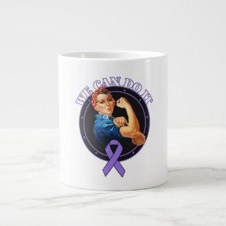 Hodgkins Lymphoma - Rosie The Riveter - We Can Do 20 Oz Large Ceramic Coffee Mug