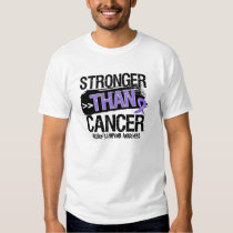 Hodgkin's Lymphoma - Stronger Than Cancer T-shirts