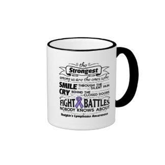 Hodgkins Lymphoma Strongest Among Us Ringer Mug