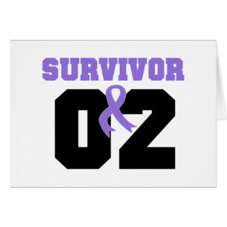 Hodgkins Lymphoma Survivor 02 Years Greeting Card